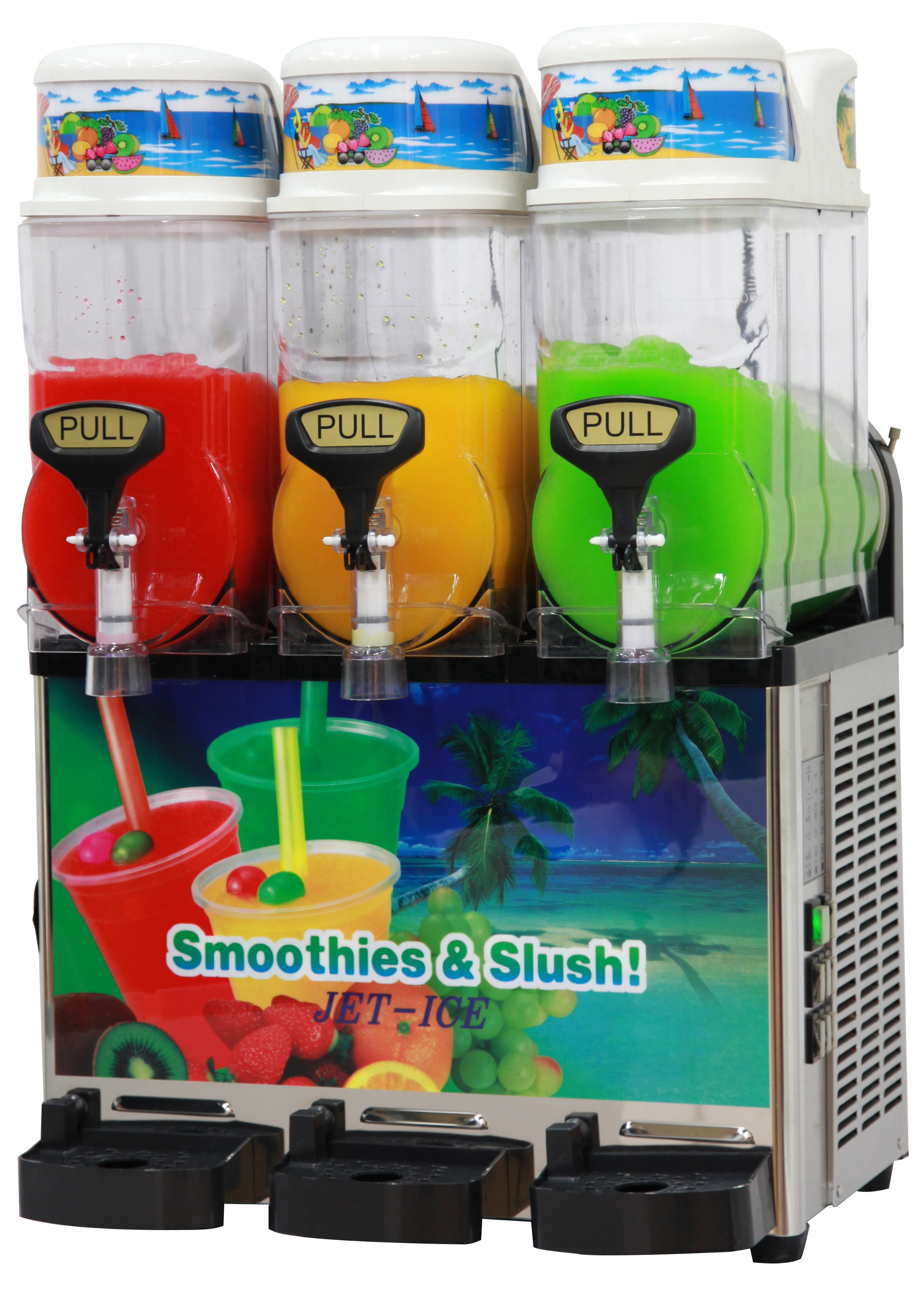 SSM420 Icetro 3 Bowl Slush Machine